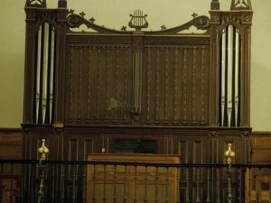Iglesia parroquial de San Miguel Arcángel. Órgano