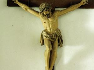 Ermita de San Juan Bautista. Escultura. Cristo Crucificado