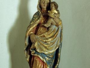 Ermita de San Juan Bautista. Escultura. Virgen del Pilar