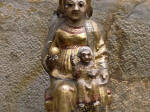 Ermita de San Prudencio. Escultura. Andra Mari