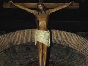 Ermita de San Prudencio. Escultura. Cristo Crucificado