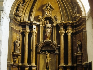 Iglesia parroquial de San Pedro de Leaburu. Retablo de San Pedro
