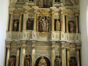 Iglesia parroquial de Nuestra Señora de la Asunción Gaztelu. Retablo de Nuestra Señora de la Asunción