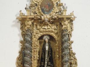 Iglesia parroquial de Nuestra Señora de la Asunción Gaztelu. Retablo de la Dolorosa