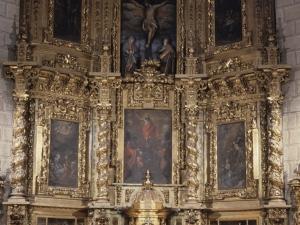 Iglesia parroquial de San Salvador. Retablo de San Salvador