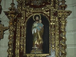 Iglesia parroquial de San Salvador. Retablo de San José