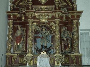 Iglesia parroquial de San Salvador. Retablo de San Miguel Arcángel