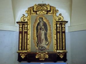 Ermita de Nuestra Señora de Guadalupe. Retablo de la Virgen de Guadalupe