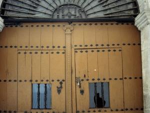 Ermita de Nuestra Señora de Guadalupe. Puerta