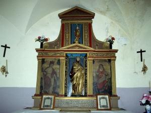 Ermita de Santa Ana. Retablo de Santa Ana
