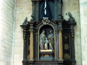 Iglesia parroquial de San Esteban. Retablo de la Sagrada Familia