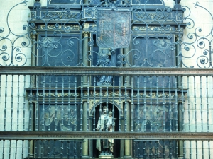 Iglesia parroquial de San Esteban. Retablo de la Virgen del Carmen