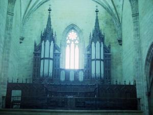 Iglesia parroquial de San Esteban. Órgano