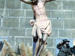 Iglesia parroquial de San Esteban. Escultura. Cristo Crucificado
