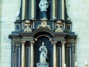 Iglesia parroquial de San Esteban. Retablo de la Inmaculada Concepción