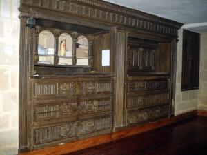 Iglesia parroquial de San Esteban. Cajonería