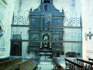 Iglesia parroquial de San Esteban. Reja