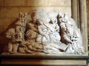 Iglesia parroquial de San Esteban. Escultura. Santo entierro de Cristo
