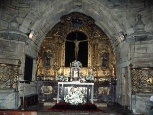Iglesia parroquial de San Esteban. Retablo de San Juan Bautista