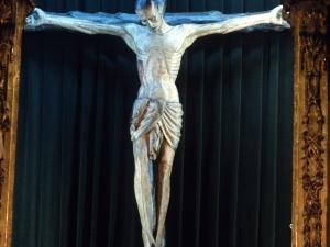 Basílica del Santo Cristo de Lezo. Escultura. Cristo Crucificado