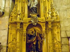Basílica del Santo Cristo de Lezo. Retablo de San Juan Evangelista