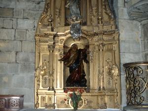 Basílica del Santo Cristo de Lezo. Retablo de la Dolorosa