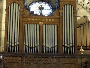 Basílica del Santo Cristo de Lezo. Órgano