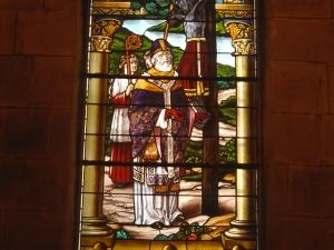 Basílica del Santo Cristo de Lezo. Vidrieras