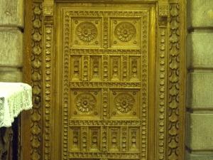 Basílica del Santo Cristo de Lezo. Puerta