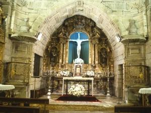 Basílica del Santo Cristo de Lezo. Retablo de Santo Cristo de Lezo