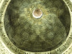 Basílica del Santo Cristo de Lezo. Cúpula de la basílica