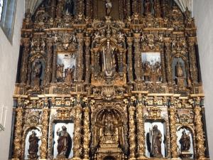 Iglesia parroquial de Santa Catalina. Retablo de Santa Catalina de Alejandría
