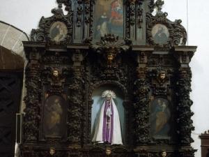 Iglesia parroquial de Santa Catalina. Retablo de la Dolorosa
