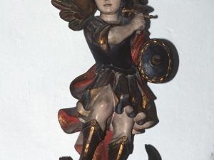Iglesia parroquial de Santa Catalina. Escultura. San Miguel Arcángel
