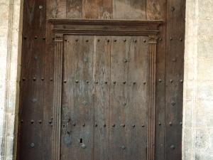 Iglesia parroquial de Santa Catalina. Puerta