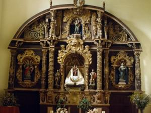 Ermita de Nuestra Señora del Sagrario. Retablo de la Virgen del Rosario