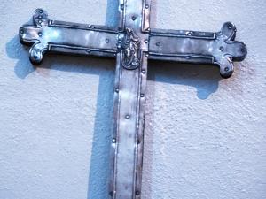 Iglesia parroquial de la Inmaculada concepción. Cruz procesional