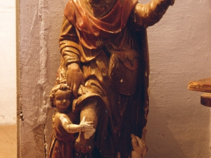 Iglesia parroquial de la Inmaculada concepción. Escultura. San Roque