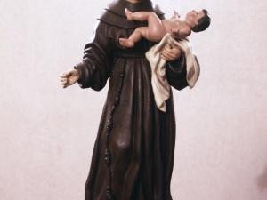 Iglesia parroquial de la Inmaculada concepción. Escultura. San Antonio