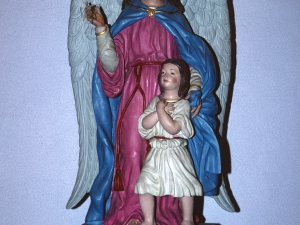 Humilladero del Ángel de la Guarda. Escultura. Ángel de la Guarda