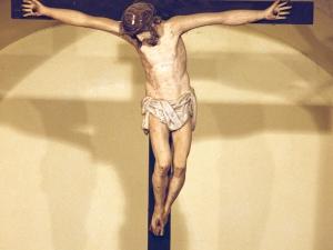 Ermita de Santa Ana. Escultura. Cristo Crucificado