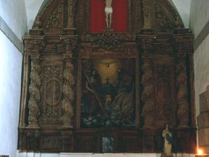 Ermita de la trinidad. Retablo de la Trinidad