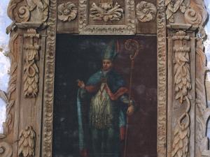 Ermita de la trinidad. Retablo de San Blas