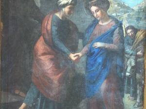 Ermita de Santa Isabel. Pintura. Visitación