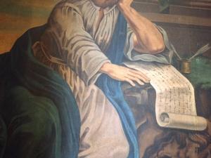 Ermita de Lierni. Pintura. San Marcos
