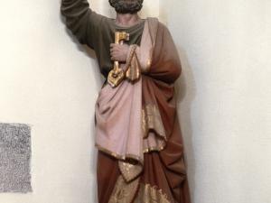 Iglesia parroquial de Nuestra Señora de la Asunción. Escultura. San Pedro