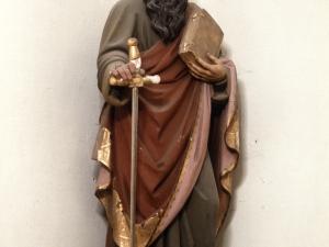 Iglesia parroquial de Nuestra Señora de la Asunción. Escultura. San Pablo