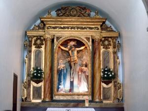 Ermita del Calvario. Retablo del Calvario
