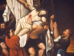 Ermita del Calvario. Pintura. Descendimiento