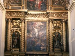 Monasterio de Santa Catalina. Retablo de Santa Catalina de Alejandría